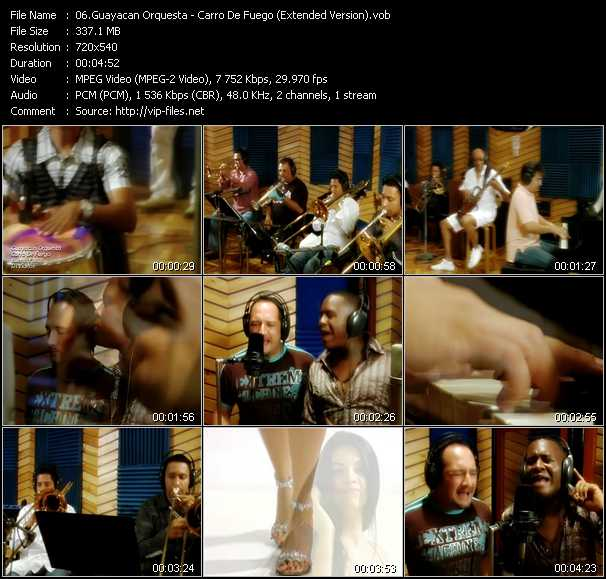 Guayacan Orquesta video screenshot