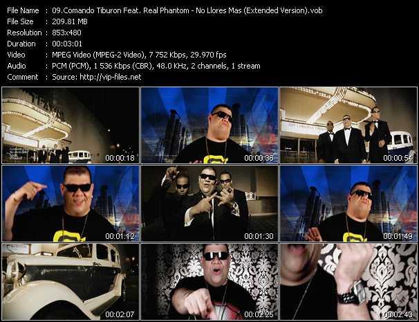 Comando Tiburon Feat. Real Phantom video screenshot