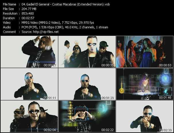 Gadiel El General video screenshot
