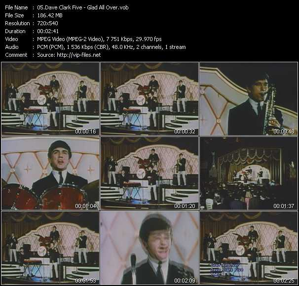 Dave Clark Five video screenshot