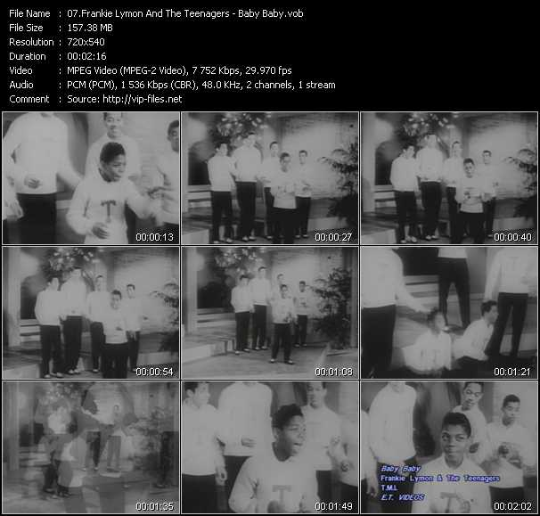 Frankie Lymon And The Teenagers video screenshot