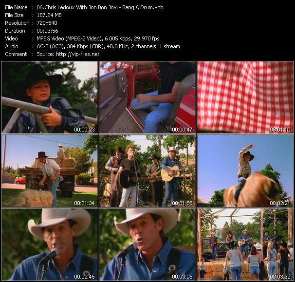 Chris Ledoux With Jon Bon Jovi video screenshot