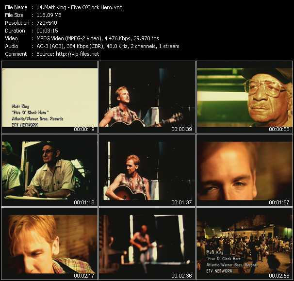 Matt King video screenshot