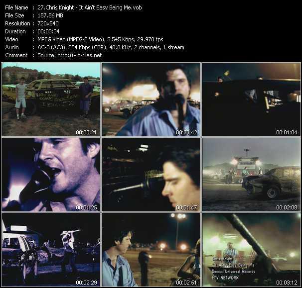Chris Knight video screenshot