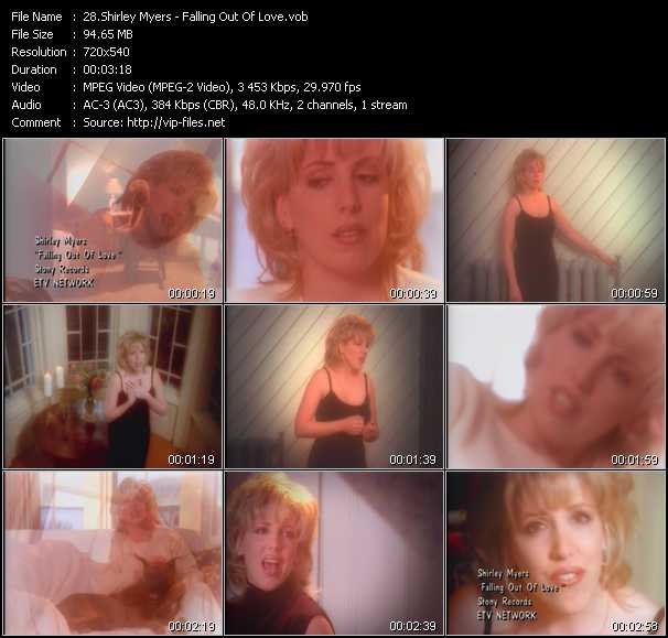Shirley Myers video screenshot