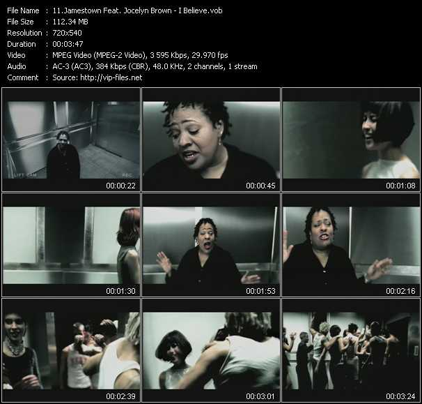 Jamestown Feat. Jocelyn Brown video screenshot