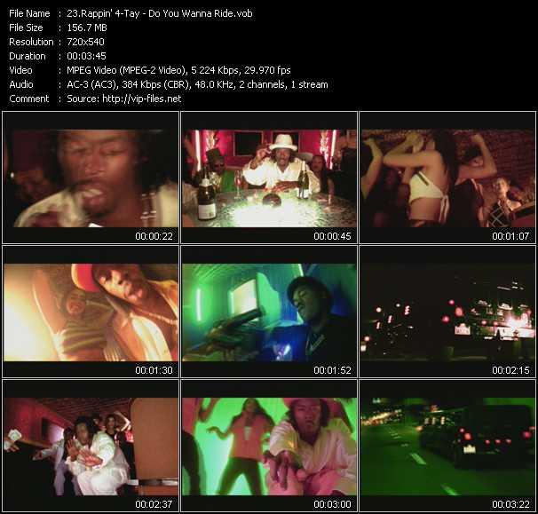 Rappin' 4-Tay video screenshot