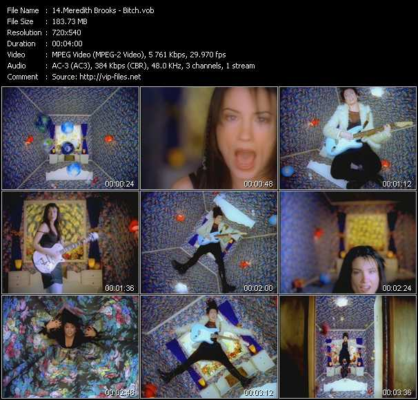 Meredith Brooks video screenshot