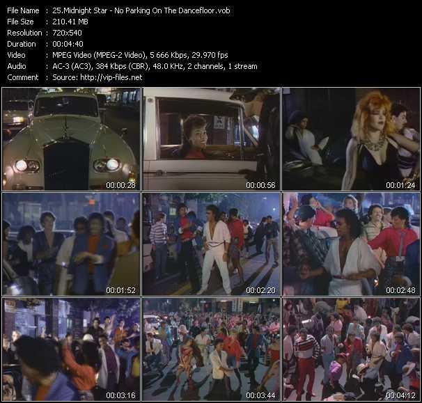 video No Parking On The Dancefloor screen