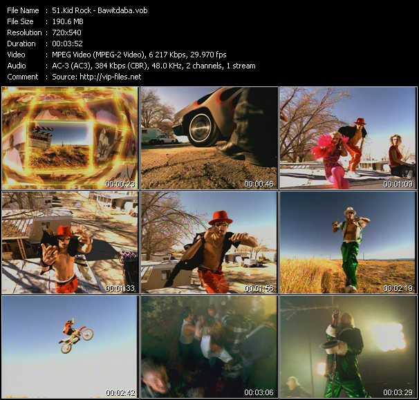 Kid Rock video screenshot