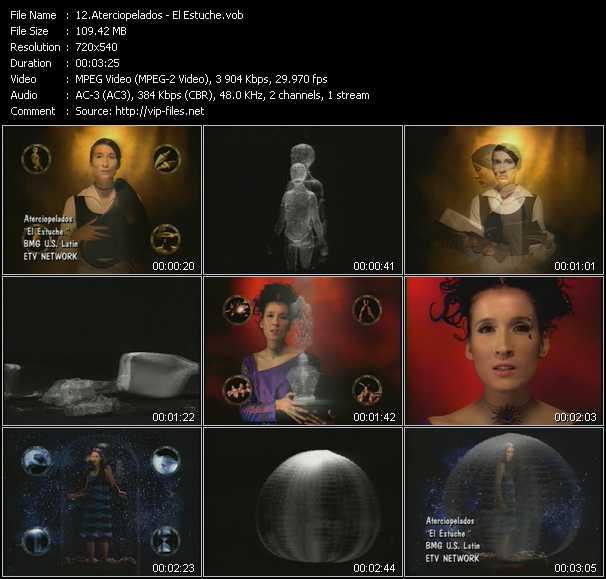 Aterciopelados video screenshot
