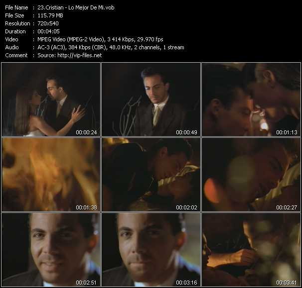 Cristian video screenshot