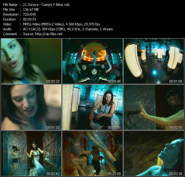 Soraya video screenshot