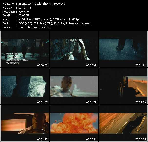 Inspectah Deck video screenshot