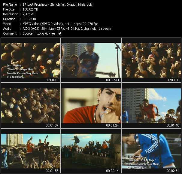Lost Prophets video screenshot