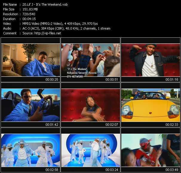 Lil' J video screenshot
