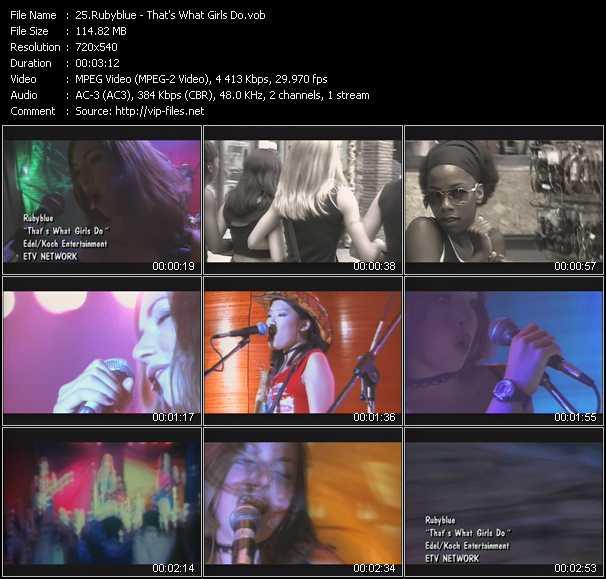 Rubyblue video screenshot