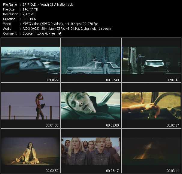 P.O.D. video screenshot