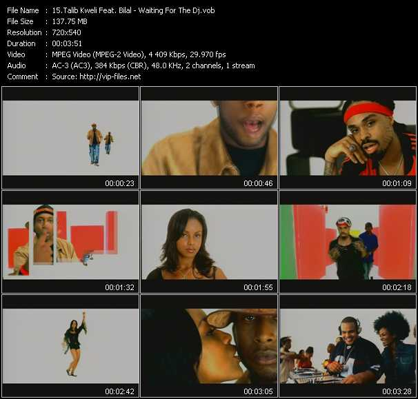 Talib Kweli Feat. Bilal video screenshot
