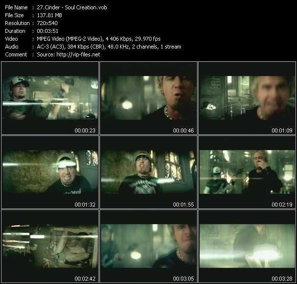 Cinder video screenshot