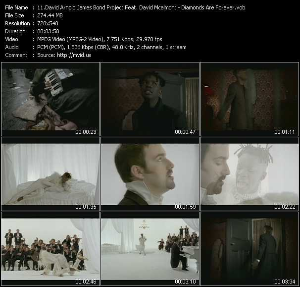 David Arnold James Bond Project Feat. David Mcalmont video screenshot