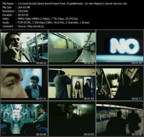 David Arnold James Bond Project Feat. Propellerheads video screenshot