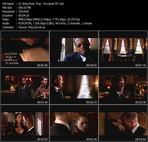 Sting Feat. Pras video screenshot