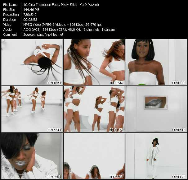 Gina Thompson Feat. Missy Elliott video screenshot