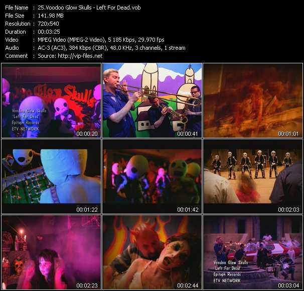 Voodoo Glow Skulls video screenshot