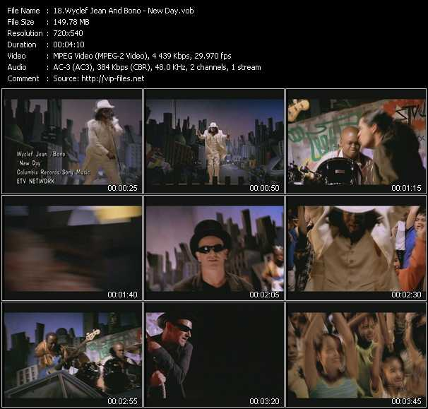 Wyclef Jean And Bono video screenshot