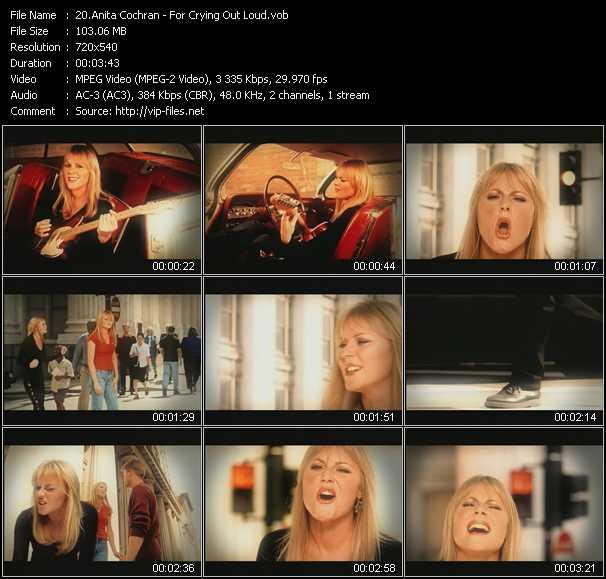 Anita Cochran video screenshot
