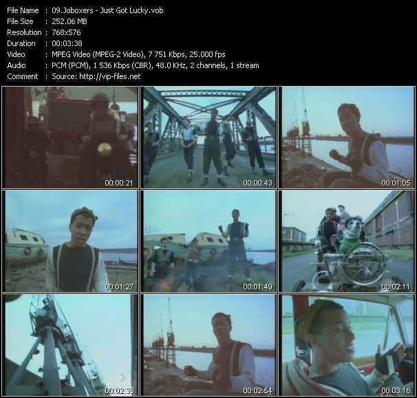 Joboxers video screenshot