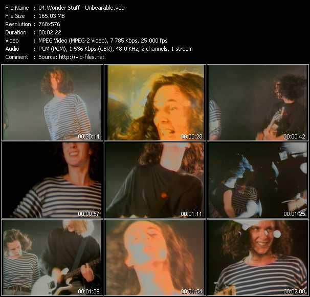 Wonder Stuff video screenshot