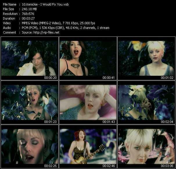 Kenickie video screenshot