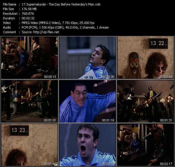 Supernaturals video screenshot