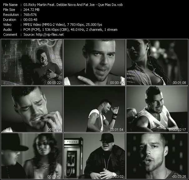 Ricky Martin Feat. Debbie Nova And Fat Joe video screenshot