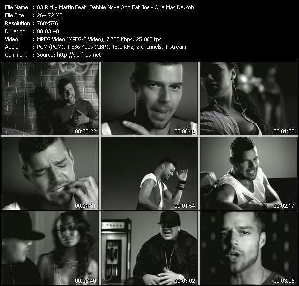 Ricky Martin Feat. Debbie Nova And Fat Joe video screenshot