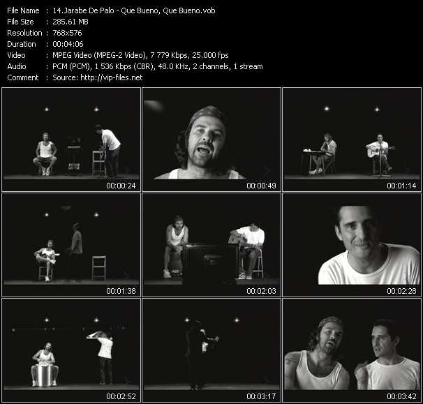 Jarabe De Palo video screenshot