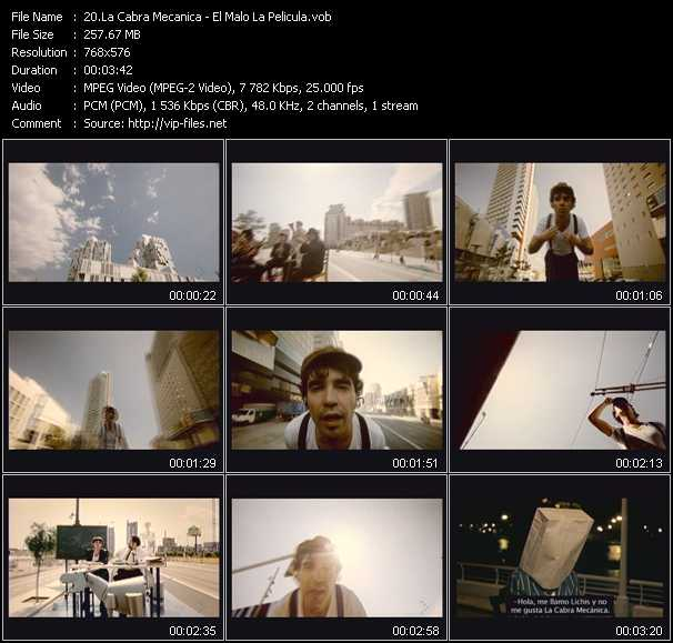 La Cabra Mecanica video screenshot