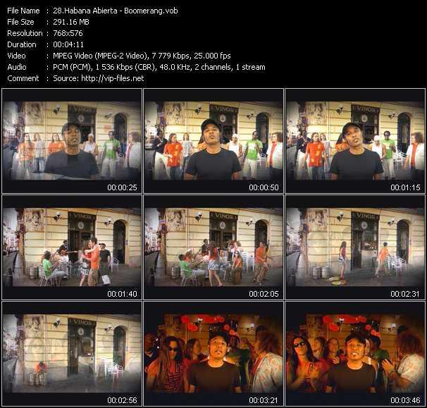Habana Abierta video screenshot