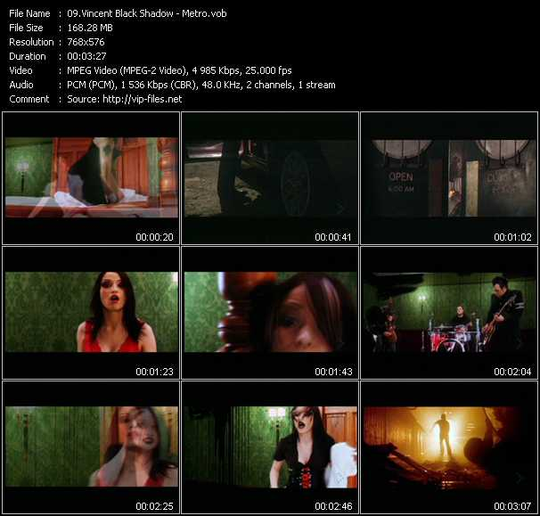 Vincent Black Shadow video screenshot