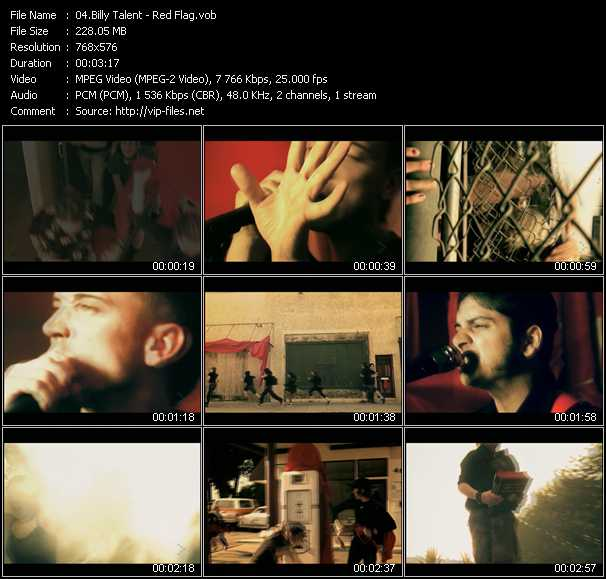 Billy Talent video screenshot