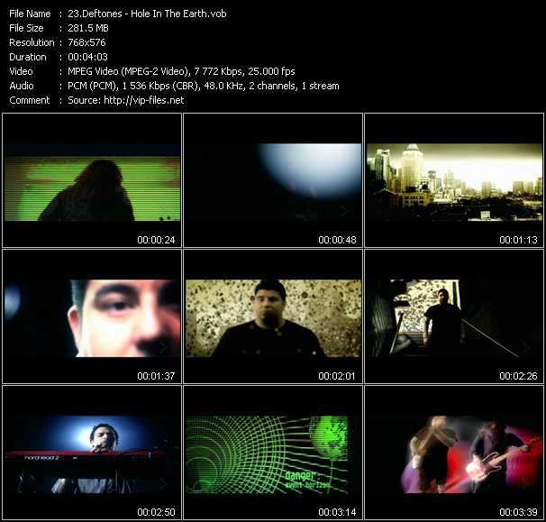 Deftones video screenshot