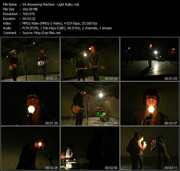 Answering Machine video screenshot
