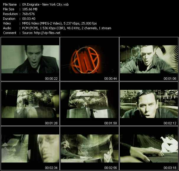 Emigrate video screenshot
