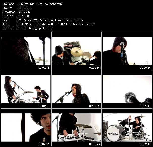 Shy Child video screenshot