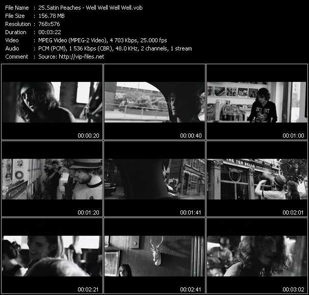 Satin Peaches video screenshot