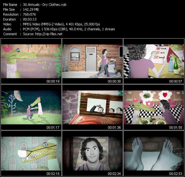 Annuals video screenshot