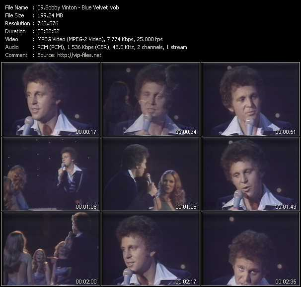 Bobby Vinton video screenshot