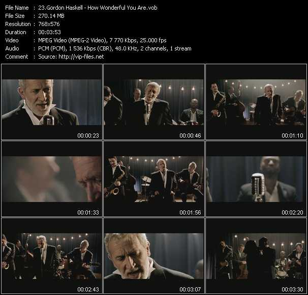 Gordon Haskell video screenshot
